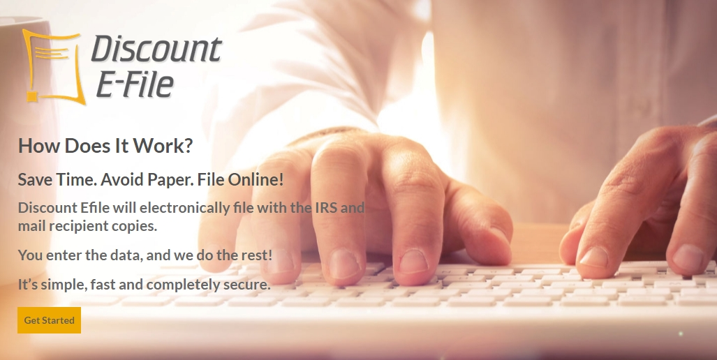 Discount Efile 1099 & W2 system for online efiling and mailing. A simple and secure way to get all types of 1099s and W2s filed fast, no forms or software needed. DiscountTaxForms.com